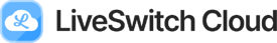 Liveswitch cloud logo black