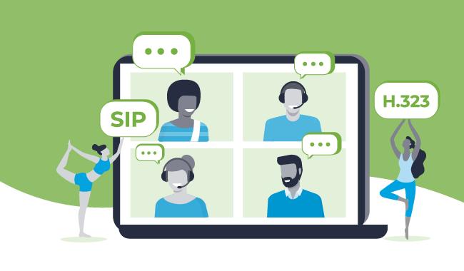 SIP & H.323 Integration into WebRTC